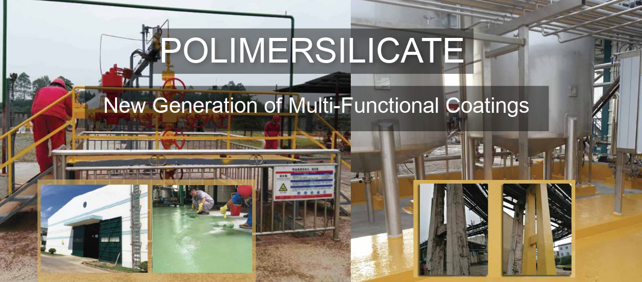 POLIMERSILICATE New Generation of Multi-Functional Coatings