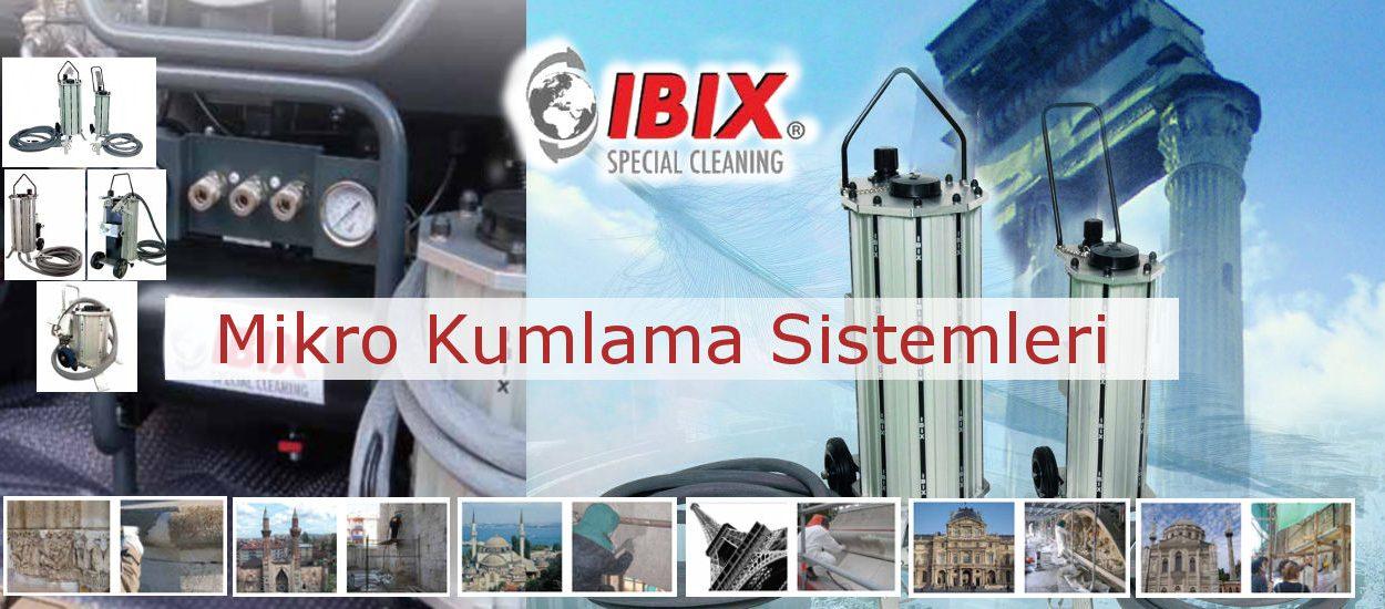 IBIX Mikro Kumlama Sistemleri